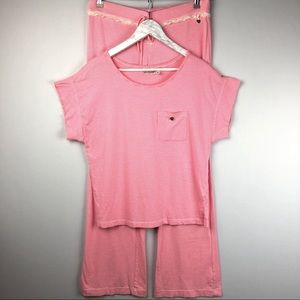 Juicy Couture Women's Pink Pijamas Set M